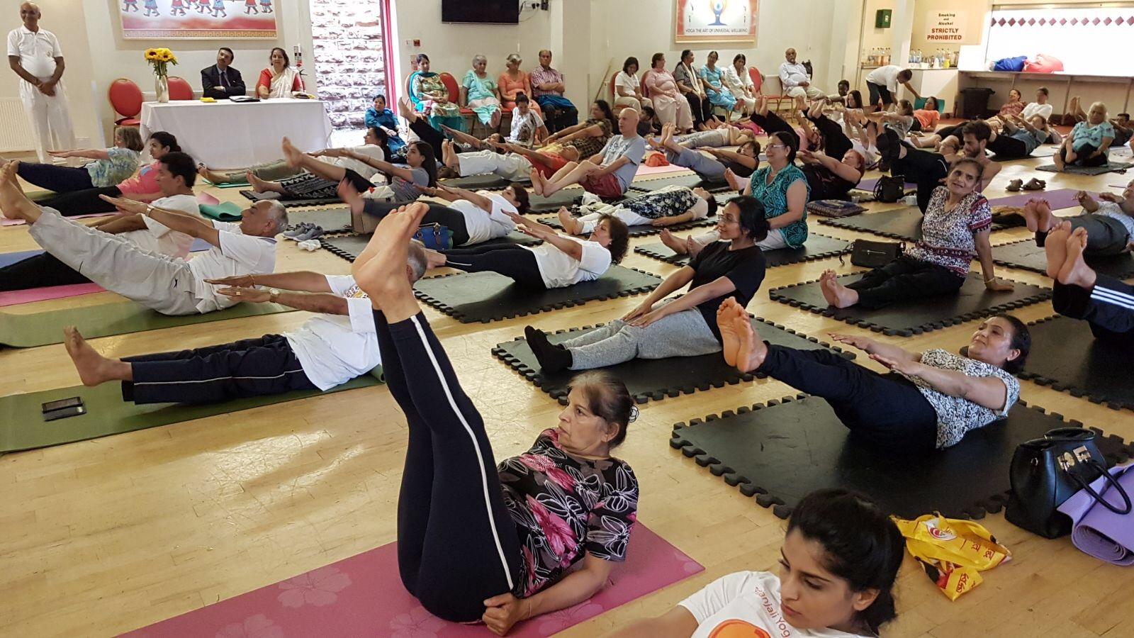 International Day of Yoga 21st June 2017