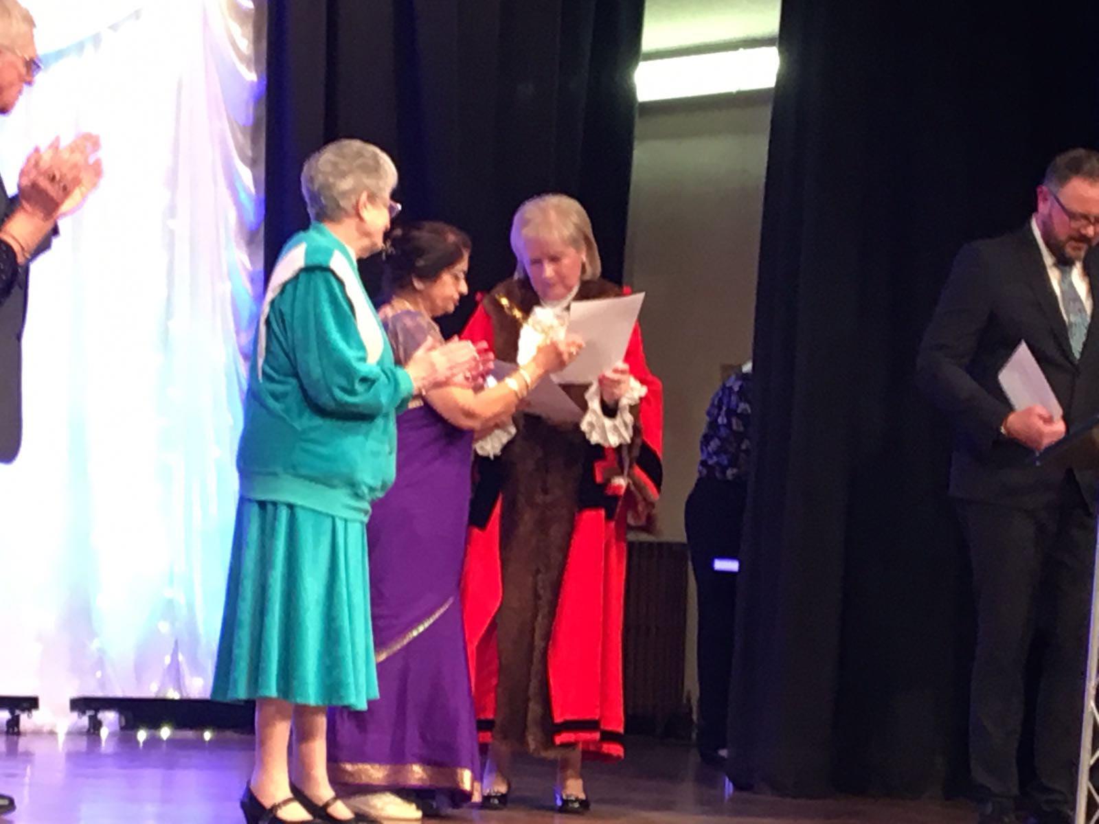 Mayor community Award on 22 March 2018 in Town Hall Redbridge