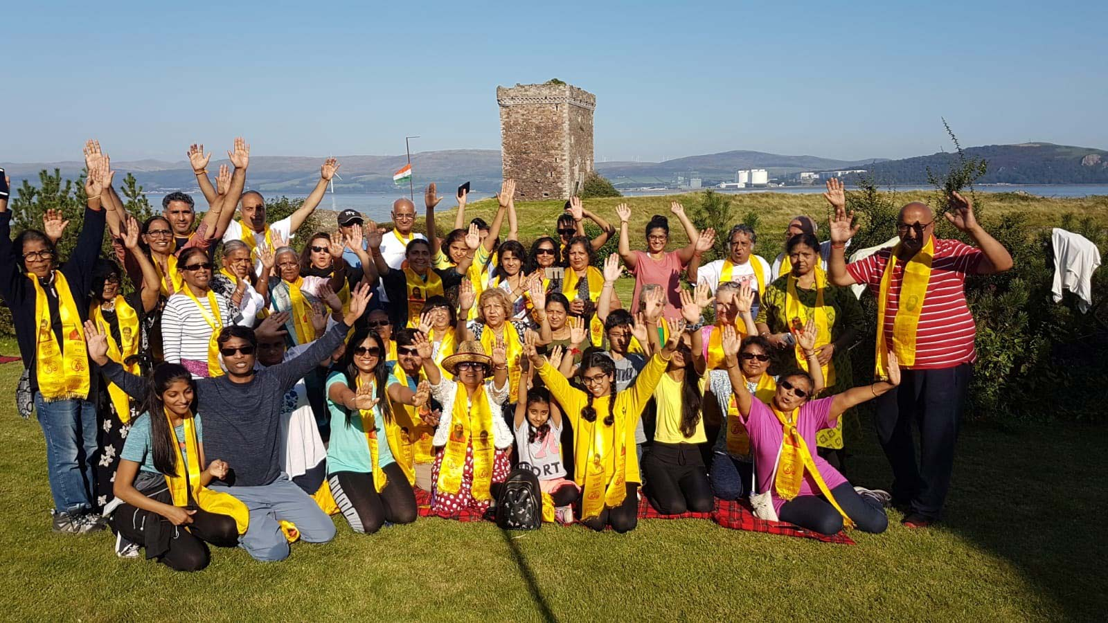 Little Cumbrae Island Scotland Yoga Retreat 2019